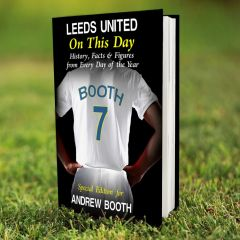 Personalised Leeds Events On This Day Book