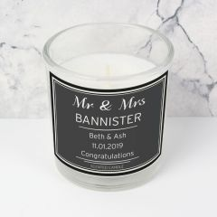 Personalised Classic Scented Candle in Jar