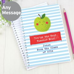 Personalised Apple for the Teacher Notebook