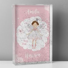 Personalised Fairy Princess Design Glitter Shaker