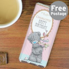 Personalised Me to You Cupcake Chocolate Bar For Her