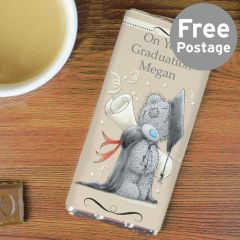 Personalised Me to You Graduation Chocolate Bar