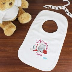 Me To You Personalised My 1st Christmas Bib