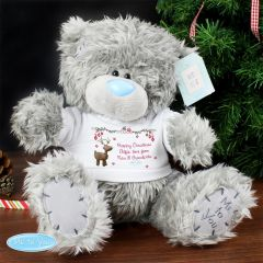 Personalised Me To You Teddy Bear with Reindeer T-Shirt