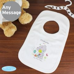 Personalised Tiny Tatty Teddy Cuddle Bug Baby Bib 0-3 Months