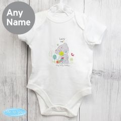 Personalised Tiny Tatty Teddy Cuddle Bug Baby Vest 0-3 Months