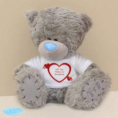 Personalised Me to You Teddy Bear with Hearts T-Shirt