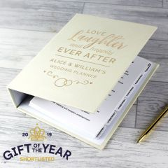 Personalised Happily Ever After Wedding Planner Book