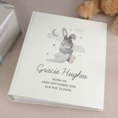 Personalised Baby Bunny Rabbit Album with Sleeves