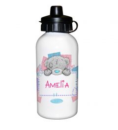 Personalised Me To You Girls Design Drinks Bottle