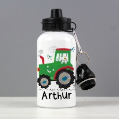 Personalised Tractor Design Drinks Bottle
