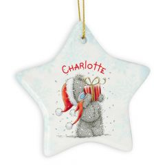 Me To You Personalised Star Christmas Decoration