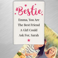 Personalised #Bestie Friends Fridge Magnet