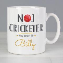 Personalised The No.1 Cricketer Mug