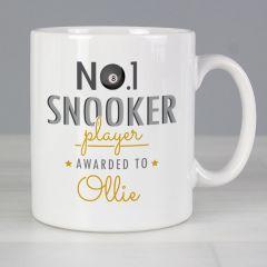 Personalised The No.1 Snooker Player Mug