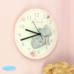 Me To You Personalised Glass Clock