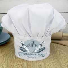 Personalised Bakers Gonna Bake Chef Hat