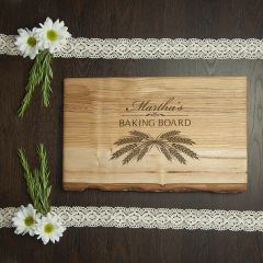 Personalised Welsh Ash Bread Carving Board