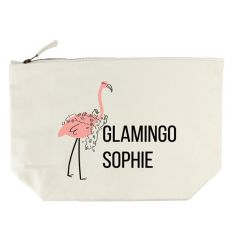 Glamingo Cream Wash Bag