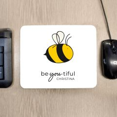 Personalised Bee You Mouse Mat
