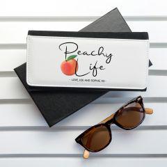 Peachy Life Black Wallet