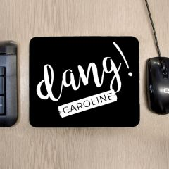 Personalised Dang Mouse Mat