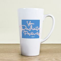 Radiate Positivity Latte Mug