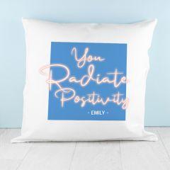 Radiate Positivity Cushion Cover