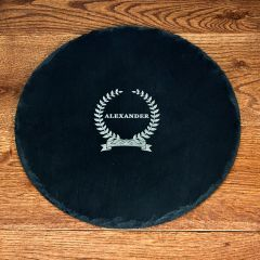Personalised Name Of Honour Round Slate Cheese Board