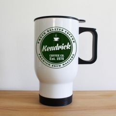 Personalised Coffee Company Travel Mug