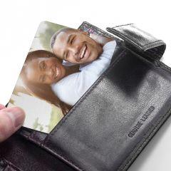 Personalised Favourite Memory Metal Wallet Insert