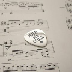 Personalised Hold Me Close Plectrum