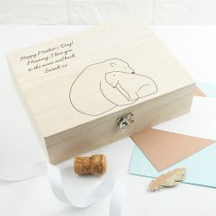 Personalised Mama Bear Tea Box