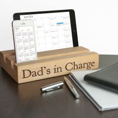 Personalised Office Desk Tablet & Phone Holder