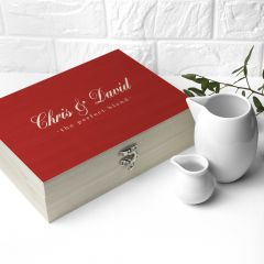 Personalised The Perfect Blend Couples Tea Box