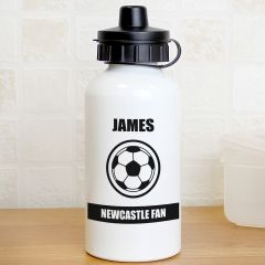 Personalised Football Fan Design Drinks Bottle