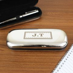 Personalised Monogram Design Pen and Box Set