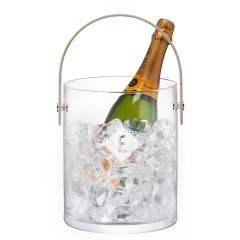 Personalised Monogrammed Glass Ice Bucket