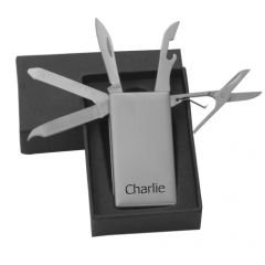 Personalised Multi Mini Tool Money Clip