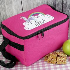 Personalised Unicorn Childrens Lunch Bag