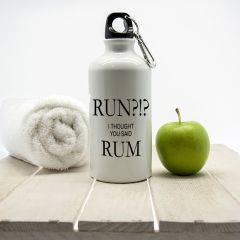 Personalised Run!? I Thought You Said Rum Water Bottle