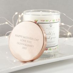Personalised Wild Fig & Red Grape Luxury Candle