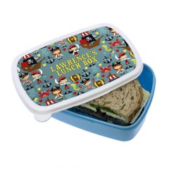 Personalised Pirates Lunch Box
