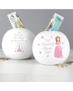 Our Beautiful Flower Girl Money Box