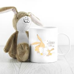 Personalised Guess How Much I Love You Spring Hare Unbreakable Mug