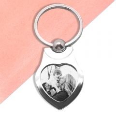 Memories With Mum Photo Keyring
