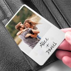 Moment in Time Metal Wallet Keepsake