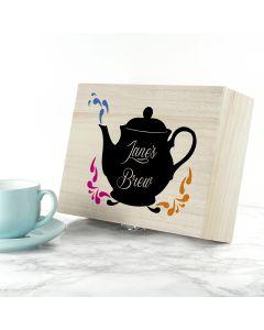 Personalised My Favourite Brews Tea Box