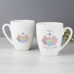 Mum Trio Cupcake Latte Mug