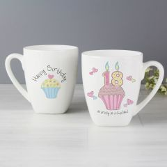 18th Birthday Cupcake Latte Mug